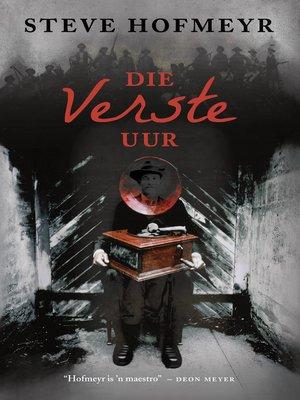 cover image of Die verste uur