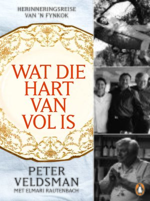 cover image of Wat die hart van vol is