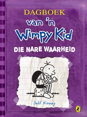 cover image of Dagboek van 'n Wimpy Kid