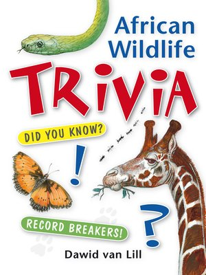 cover image of African Wildlife Trivia