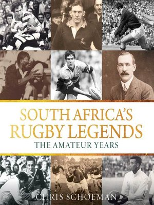 cover image of South Africa's Rugby Legends