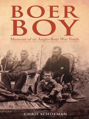 cover image of Boer Boy