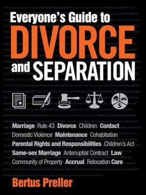 cover image of Everyone's Guide to Divorce and Separation