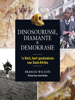 cover image of Dinosourusse, diamante & demokrasie