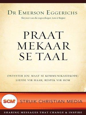 cover image of Praat mekaar se taal