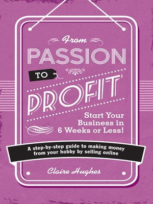 cover image of From Passion to Profit