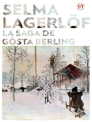 cover image of saga de Gösta Berling