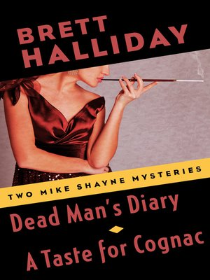 cover image of Dead Man's Diary and a Taste for Cognac