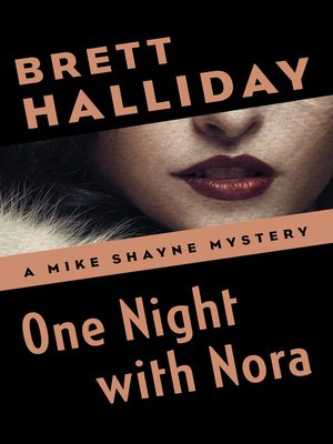 cover image of One Night with Nora