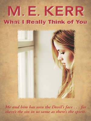 cover image of What I Really Think of You