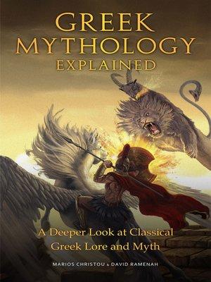 cover image of Greek Mythology Explained