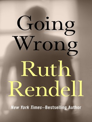 cover image of Going Wrong