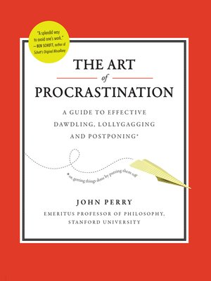 cover image of The Art of Procrastination