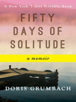 cover image of Fifty Days of Solitude