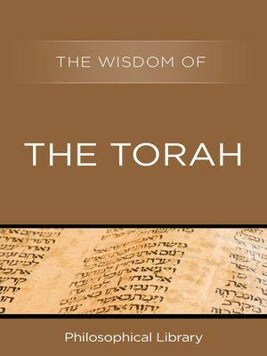 cover image of The Wisdom of the Torah