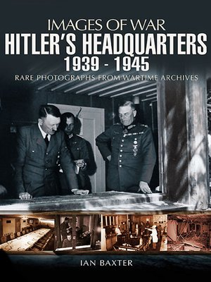 cover image of Hitler's Headquarters, 1939–1945