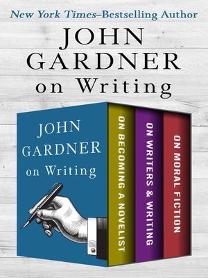 cover image of John Gardner's Collection on Writing