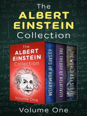 cover image of The Albert Einstein Collection Volume One