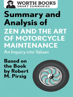 cover image of Summary and Analysis of Zen and the Art of Motorcycle Maintenance