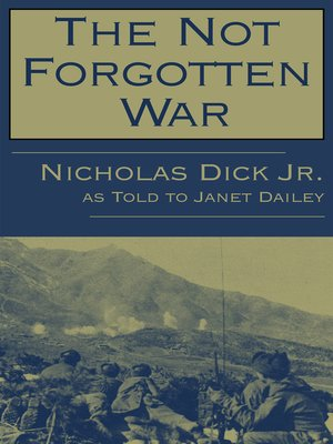 cover image of Not Forgotten War