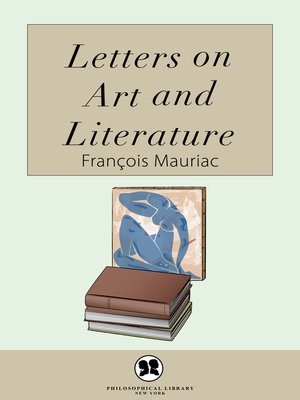 cover image of Letters on Art and Literature
