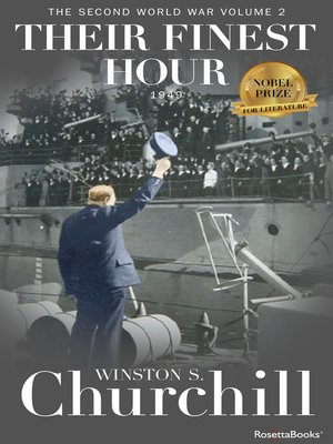cover image of Their Finest Hour, 1949