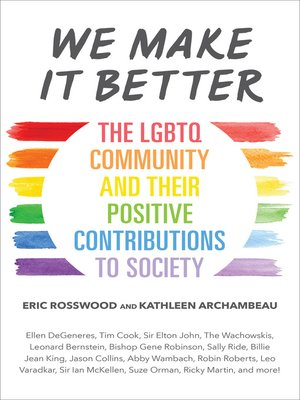 cover image of We Make It Better