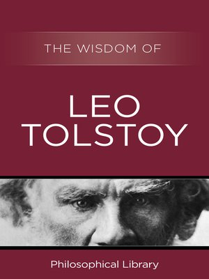 cover image of The Wisdom of Leo Tolstoy
