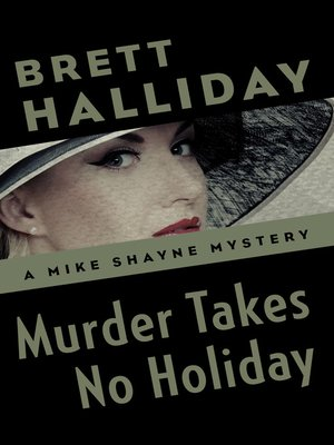 cover image of Murder Takes No Holiday