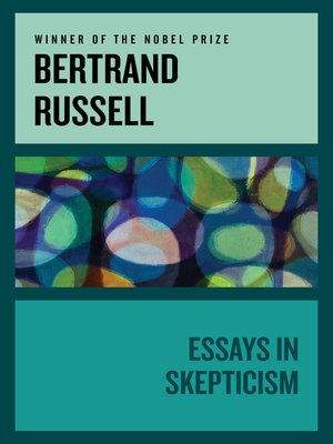 cover image of Essays in Skepticism