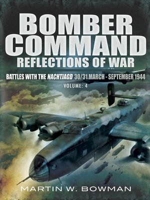 cover image of Reflections of War, Volume 4: Bomber Command, Book 4