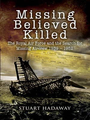 cover image of Missing Believed Killed