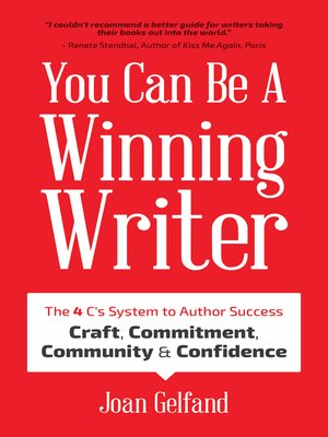 cover image of You Can Be a Winning Writer