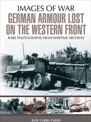 cover image of German Armour Lost on the Western Front