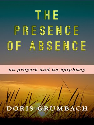 cover image of The Presence of Absence