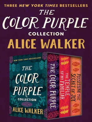 cover image of The Color Purple Collection