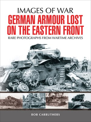 cover image of German Armour Lost on the Eastern Front
