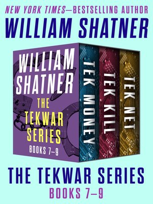 cover image of The TekWar Series Books 7–9
