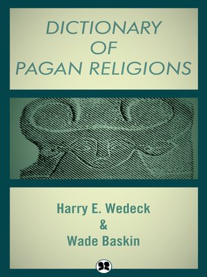 cover image of Dictionary of Pagan Religions