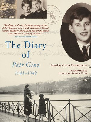 cover image of The Diary of Petr Ginz, 1941–1942
