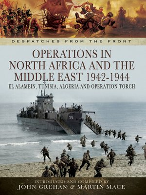 cover image of Operations in North Africa and the Middle East, 1942–1944