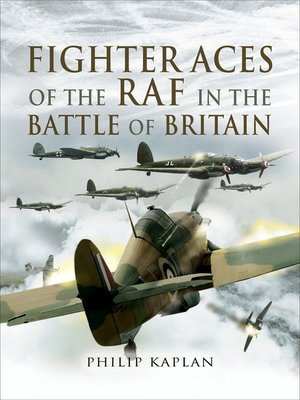 cover image of Fighter Aces of the RAF in the Battle of Britain