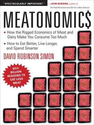 cover image of Meatonomics