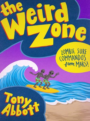 cover image of Zombie Surf Commandos from Mars!