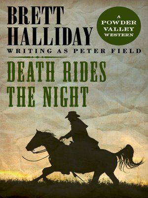 cover image of Death Rides the Night