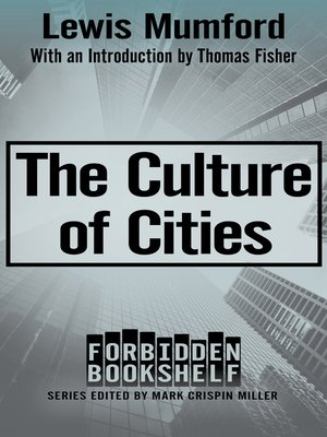 cover image of The Culture of Cities