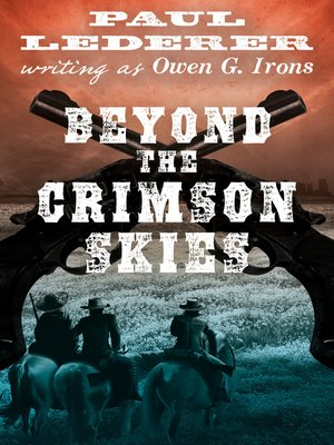 cover image of Beyond the Crimson Skies