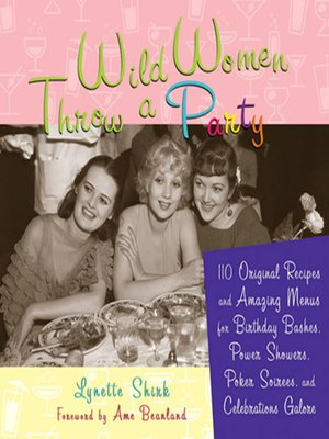 cover image of Wild Women Throw a Party