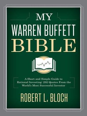 cover image of My Warren Buffett Bible
