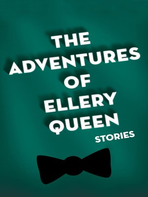 cover image of Adventures of Ellery Queen
